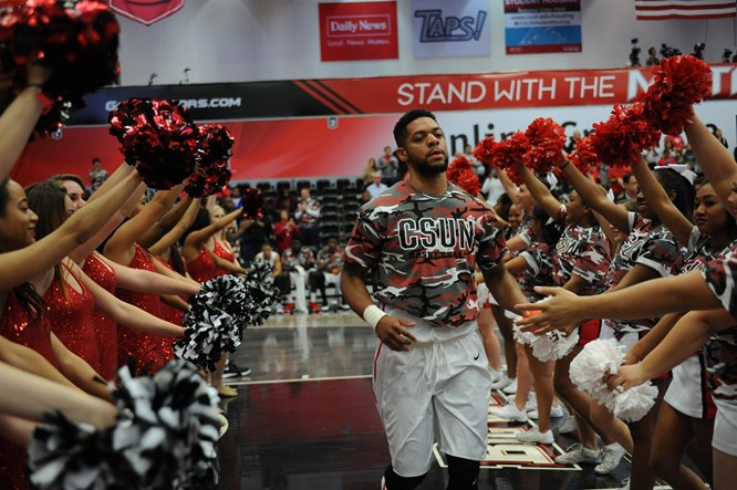 Aaron Parks Looks to Make His Mark in His Final Season with CSUN
