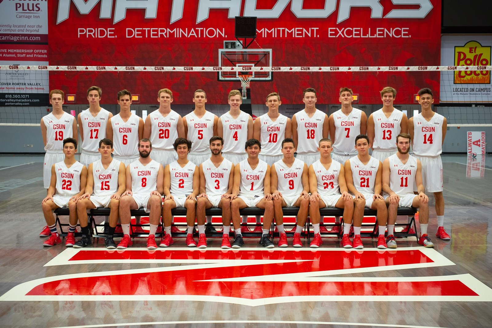 2019 Men S Volleyball Roster Csun Athletics