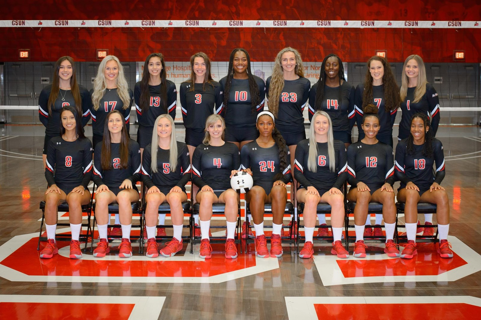 2019 Women S Volleyball Roster Csun Athletics